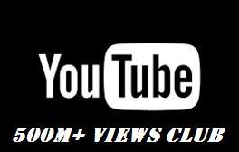 youtube 500M